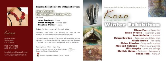 Winter Exhibition at Kozo Gallery