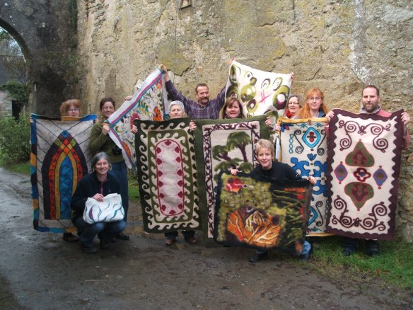 A happy group of felters!