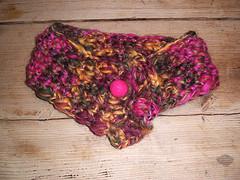 Crochet neckpiece