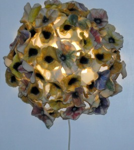Sigrid's flower explosion lampshade