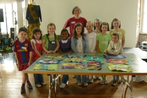 Participants and their great felt from the morning workshop!