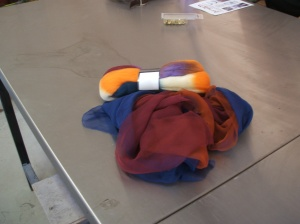Anne's silk chiffon and merino ready to get creating!