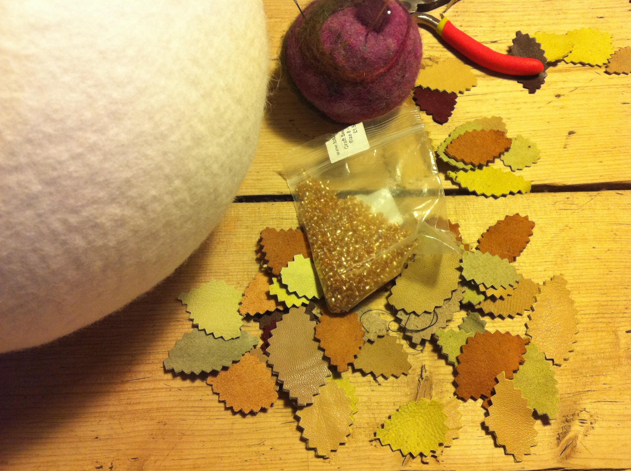 stiffening felt | Nicola Brown Fine Art Textiles