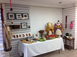 Our stand at the Creative Carlow pop up shop this morning