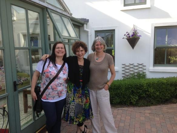 Liga, Ronna and me outside the Ennis Creative Arts Centre